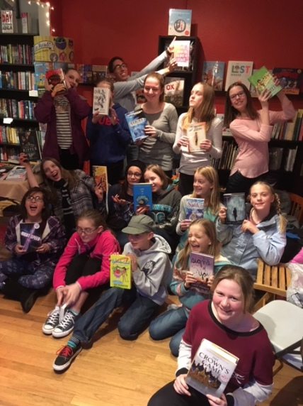 11 + year old BookWorms celebrate some of their favorite books of 2016